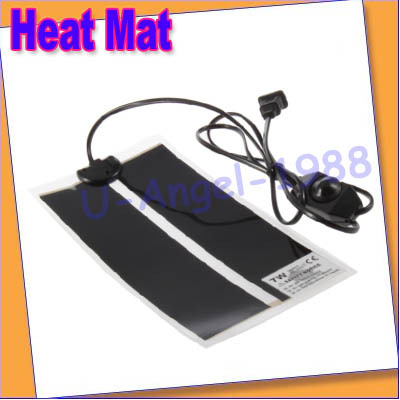 Adjustable Temperature Pet Reptile Heating Heater Warmer Bed Mat Pad Amphibians+ Free shipping(China (Mainland))