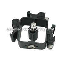 Hot Shoe Flash Stand Adapter Bracket Trigger with 3/8''-1/4'' Tripod screw
