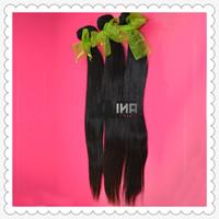 6A unprocessed human hair rosa hair products mongalian virgin hair straight 3pcs/lot/300g natural color DHL Free shipping