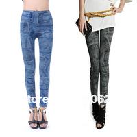 East Knitting Wholesale  Women's Fashion Jeans Seamless Leggingsgold velvet legging pants  Tights free shipping
