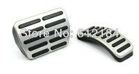 HOT Stainless pedal cover  for AT Volkswagen VW Polo Bora Jetta MK4 Lavida Skoda Fabia Clutch Accelerator Gas Brake metal pedal