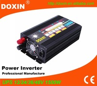 1500W Modified Sine Wave DC12V to AC220V Inverter With UPS Function