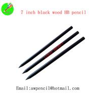Customized  black wood pencil ,ex-factory price