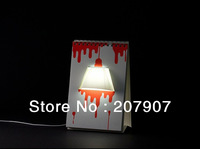 Free Shipping DIY USB Creative Page By Page Modern LED Desk Table Lamp Desk Calendar Lamp