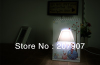 Free Shipping LOVE Romantic USB Creative Page By Page Modern LED Table Lamp Desk Calendar Lamp