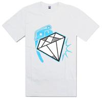 men t-shirt brand 2015 brand t shirts fashion brand high quality   diamond t shirt drop shipping