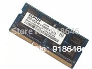 Free shipping Original Japan ELPIDA 1GB/2GB/4GB/8GB 2RX8 PC3-10600S-9-10/DDR3 1333MHz Notebook/Laptop  Memory RAM/single-strip