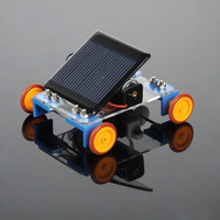 Toy car diy assembling model handmade hybrid car electric  Solar toy car model/science and technology to make manual/electric
