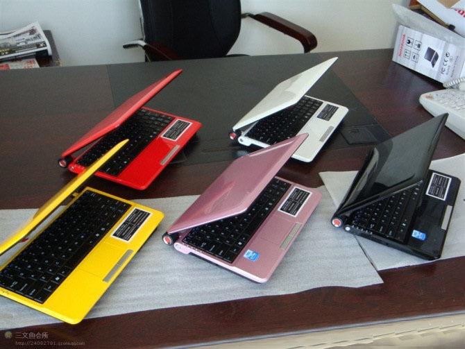 10.2 inch cheap Laptop computer Windows 7 Intel D2500 1.80GHz laptop Netbook Notebook PC S30 2GB 320GB wifi camera(China (Mainland))