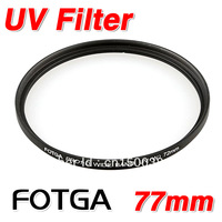 Fotga 77mm uv High Quanlity 77 mm Ultra-Violet Filter Lens Protector for canon 60d 7d 5dmarkiii nikon pentex dslr camera