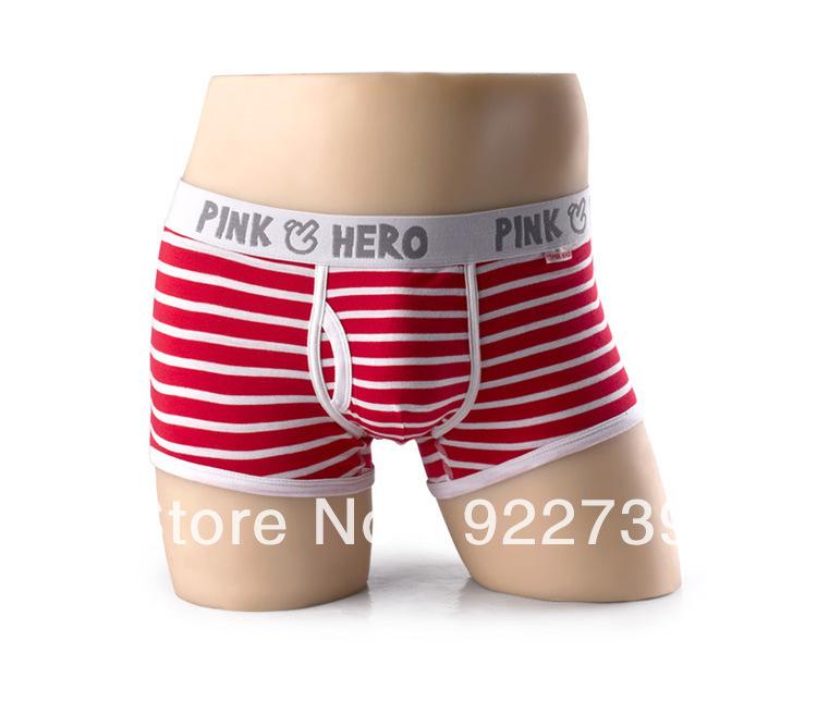 Wholesale Mens boxer shorts Men Funny underwear Man lingerie high quality Men's Pouch boxers 12 pcs / lot 4 colours(China (Mainland))