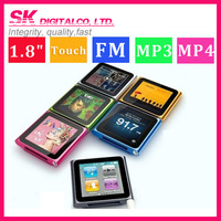 "2013 Mini Portable Sport 1.8"" Touch 8GB MP 4 MP3 Clip Player Music/FM Radio/Video/Photo/E-Book/Voice Recorder With Original Box"
