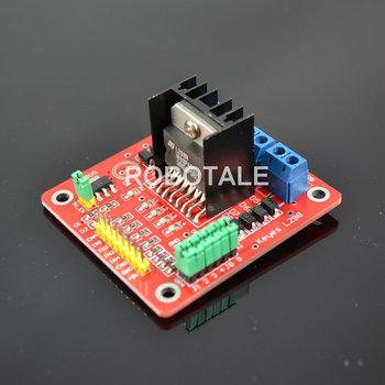Free shipping!  L298N Dual Bridge DC stepper Controller Control motor driver module Board for arduino