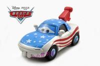 Free shipping Pixar Cars 2 CRANE FANS Blue Metal Diecast Kids boy toy gift loose