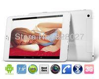 7.9 inch Cube U55gt Talk79 Mini Pad MTK8389 Quad Core 1.2GHz Android 4.2 Bluetooth GPS FM GSM WCDMA 3G