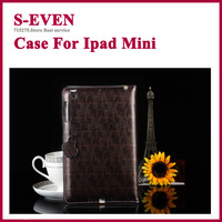 Newest 2013 Luxury Leather Case for iPad mini  smart cover