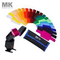Selens SE-CG20 Flash Color Gels Kit for camera/speedlight/filter Yongnuo YN568EXII/YN565EXII/YN560III/YN460
