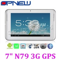 OPNEW 3G Phone Tablet Android4.1 Dual Camera Build-in Bluetooth GPS 7inch dropshipping wholesale