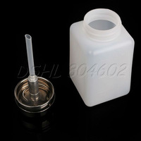 New Plastic 180ML Nail Art Empty Pump   Polish Remover Cleaner
