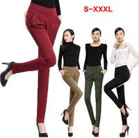 2013 Fashion Harem pants for Women High waist woman pencil pants plus size casual slim women's long trousers S,M,L,XL,XXL,3XXXL