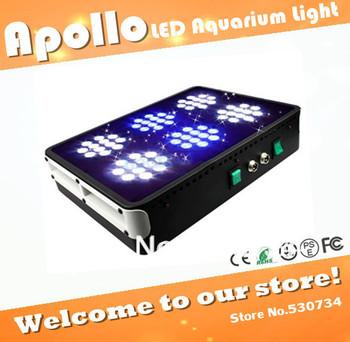 Apollo 6 72*3W LED aquarium light for saltwater reef, high power led aquarium