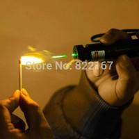 New 532nm SD 303 Focus Burning Green Laser Pointer Adjustable