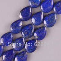 """13x18MM Lapis Teardrop Loose Beads Strand 16"""" Jewelry Making Free Shipping A015"""
