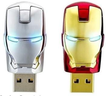 love Gift Cartoon Iron man mark 42 2GB/4GB/8GB/16GB/32GB USB2.0 Full flash drive Memory Stick pen drive usb flash drive
