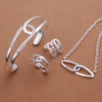 Free Shipping!925 Silver Jewelry Set,Fashion Sterling Silver Jewelry  SMTS394