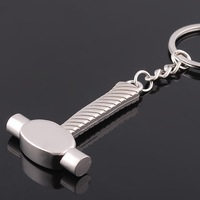 2014 Curium Child Keychain New Hammer Screwdriver Keychains Mallet Key Ring Novelties Gift Cute GJ-002