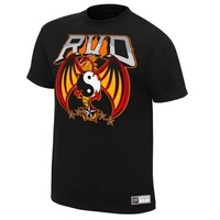 Free Shipping 2013 Male t-shirt rob van dam rvd 2013 100% cotton plus size fashion short-sleeve