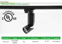8319 Mini David LED Track Spotlight 110V Dimmable lighting for  living room from LEDing the life