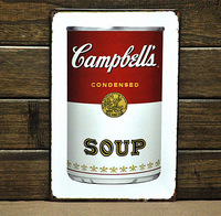 CONDENSED SOUP Tin Sign Metal Wall Art Decoration Fit For BAR PUB HOME