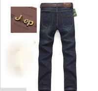 Hot 2014 Summer Men's brand jeans fashion causal autumn denim new fashion famous pants larger size 42 44