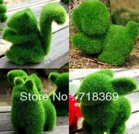 Good Grass Land small cute animal design decorations,artificial animals grass land for  holiday decorations