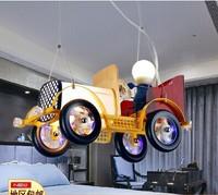 Vintage classic cars child lighting child real pendant light cartoon lamp