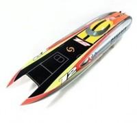 Genesis Catamaran Racing Boat/ Electric Brushless RC Boat Fiberglass with 3674 brushless motor KV207, 125A ESC with BEC