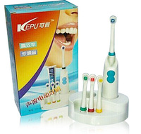 Toothbrush set quality rotary type waterproof electric toothbrush with base plate 4 brush head gift box