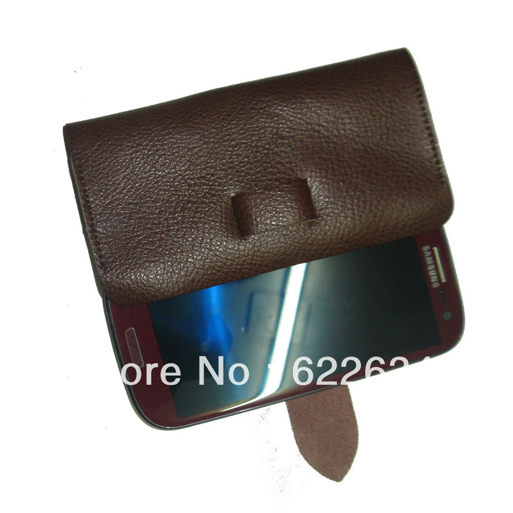 1pc/lot for sony LT30p Xperia T  lengenuine leather mobile phone case protective case ultra-thin