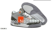 Free Shipping 2013 Fashion Cheap Name Brand Sneakers J3 Retro MEN Basketball Shoes With Tag Box