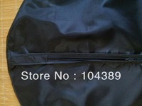 PEVA black garment bag