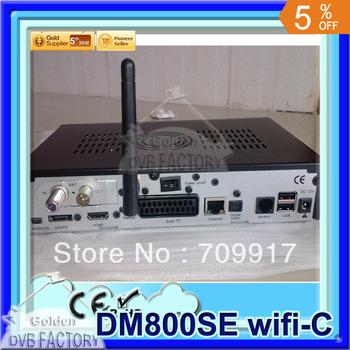 Satellte TV Receiver Dm800se cable hd DM800 HD SE Cable tuner DVB-C tuner Enigma 2+300Mbps Wifi (2pcs 800se-c wifi)