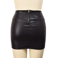 free shipping# Free shipping# NWT Women Retro Faux Leather Shiny Wet Look Mini High Waist Sexy Skirt Clubwear