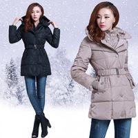 New 2013 autumn -summerdown jacket and big size winter coat women