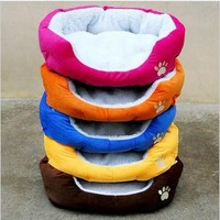 Free shipping New cat dog kennel pet house warm sponge bed cushion basket 0087