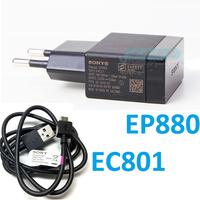 original charger FOR Sony LT22i LT26i LT28i ST25i MT27I LT30p LT29i original charger EP880+EC801 CABLE 1.5A