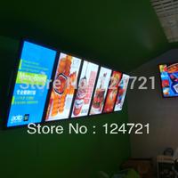 Advertising Aluminum Frame LED Lightboxes Menu Boards