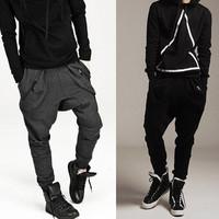 Men Casual Harem Baggy Jogging Hip Hop Dance Sport sweat Pants Trousers Pants Pants M L XL XXL