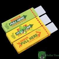 Free shipping: Safety Electric Shock Shocking Chewing Gum Joke Toy wholesale
