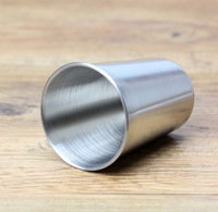 10 Pieces 180ml Stainless Steel Cups Outdoor Wine Cups Beer Water Cups